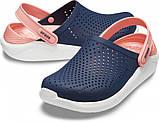 Кроксы женские Crocs LiteRide™ Clog синие 37 р., фото 2