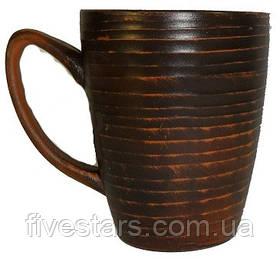 Чашка чайная глиняная   гладкая 300 мл