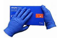 Перчатки медицинские нитриловые Nitrylex Basic Mercator Medical 50пар