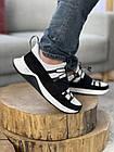 Чоловічі кросівки шкіряні весна/осінь білі New Mercury Бет, фото 5