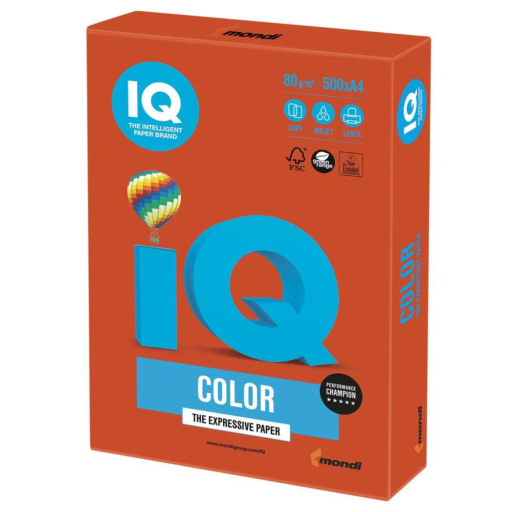 Бумага А4 IQ Color ZR09 красный