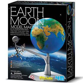 Набір для досліджень 4M Модель Земля-Місяць (00-03241)