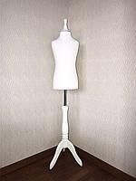 Манекен дитячий для шиття 5 - 8 років в білому кольорі виробник Ailant