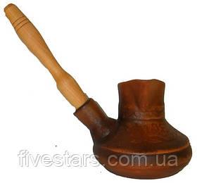 Турка кофе (малая)с деревянной ручкой