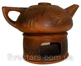 Чайник на камине декор 700 мл
