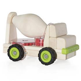 Игрушечная машина Guidecraft Block Science Trucks Большая бетономешалка (G7530)