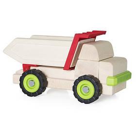 Игрушечная машина Guidecraft Block Science Trucks Большой самосвал (G7531)