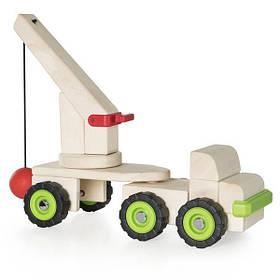 Игрушечная машина Guidecraft Block Science Trucks Большая стенобитная машина (G7533)