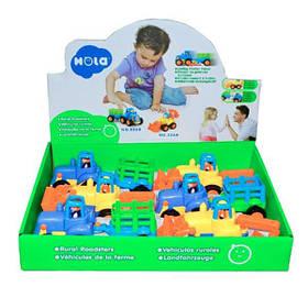 Игрушка Hola Toys Сельхозмашинка 6 шт. (326AB-6)
