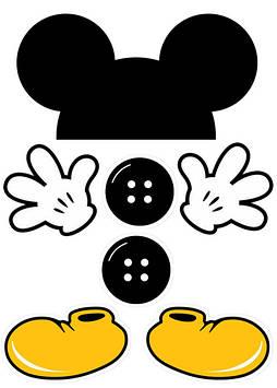 """Вафельна картинка """"Міккі Маус"""""""
