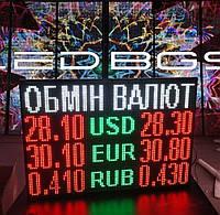 Табло валют (1000х800 мм, 3 валюты), фото 1