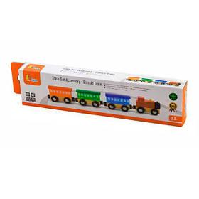 Набір для залізниці Viga Toys Поїзд (50819)