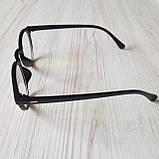 Окуляри для іміджу з прозорою лінзою очки для имиджа с прозрачной линзой, фото 4