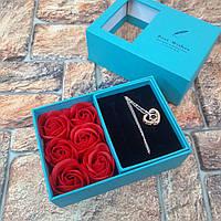 Подарок девушке на 8 марта день влюблённых святого Валентина оригинальный Живые Фото
