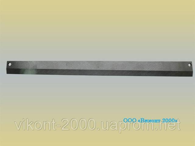 Нож скошенный для формирования ровного края пакета