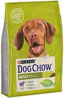Dog Chow Adult для взрослых собак с ягненком, 14 кг