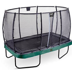 Батут EXIT Elegant Premium 244х427 cm прямоугольный green