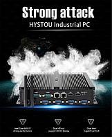 Безвентиляторний міні ПК промисловий HYSTOU P04B, Intel Core i7-5500U 3.0 ГГц turbo, DDR3L-8 ГБ, HDD 500 ГБ, фото 1