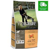 Pronature Holistic Dog Adult All Breeds с уткой и апельсинами, 13,6 кг
