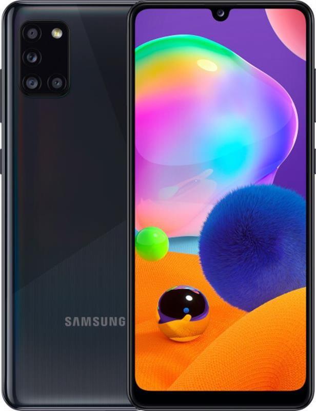 """Смартфон Samsung Galaxy A31 SM-A315 4/64GB Dual Sim Black UA_; 6.4"""" (2400х1080) Super AMOLED / Samsung Exynos"""