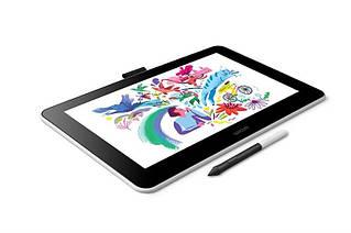 Графический планшет Wacom One (DTC133W0B)