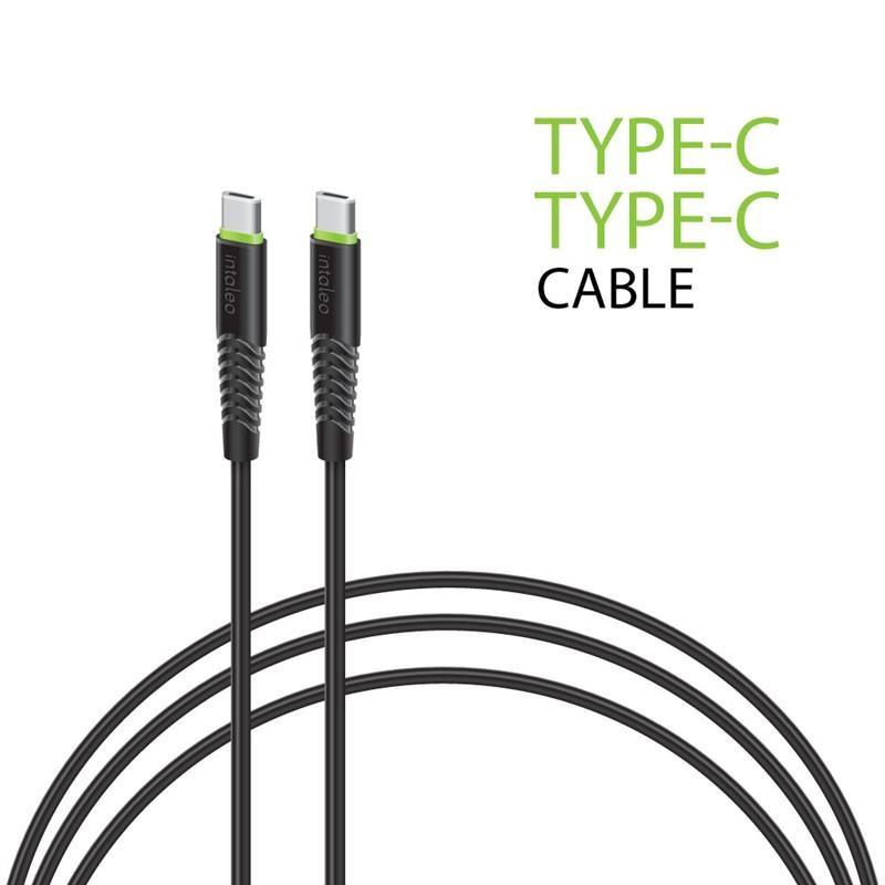 Кабель Intaleo CBFLEXTT1 USB Type-C-USB Type-C 1.2 м Black (1283126501296)