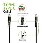 Кабель Intaleo CBFLEXTT1 USB Type-C-USB Type-C 1.2 м Black (1283126501296), фото 2