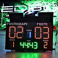 Табло для спортзала  (1000х600 мм)
