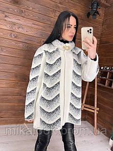 Женское пальто из мериносовой шерсти альпака