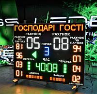 Табло для волейбола (1640х1300 мм)