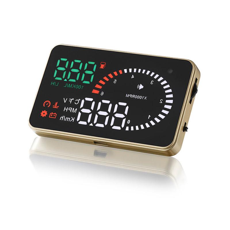 HUD OBD X6 Автомобильный проектор приборной панели на лобовое стекло