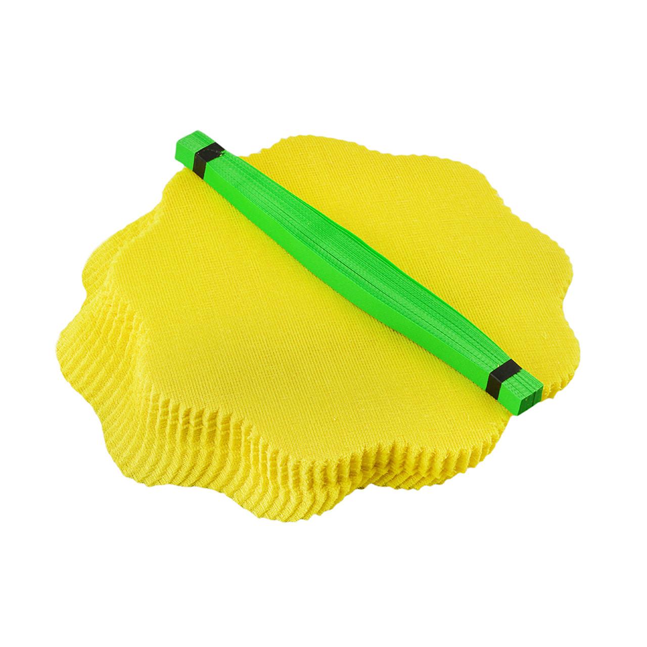 Марля для отжима лимона с зеленой лентой,100 шт
