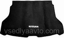 Ворсовый коврик в багажник NISSAN X-TraiI с 2014-2019- гг.