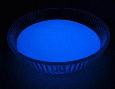 Люминофор светящийся порошок люминесцент синий базовый ТМ Просто и Легко 1000 г (lumin_bazov_siniy_1000)