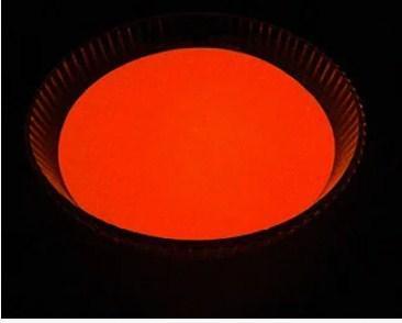 Порошок люминесцент оранжево-розовый в темноте и фиолетово-розовый на свету светящийся ТМ Просто и Легко 500 г