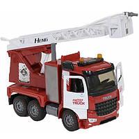 Пожарная машина игрушка детская большая с водой инерционная музыкальная Fire Truck Красный (9935)