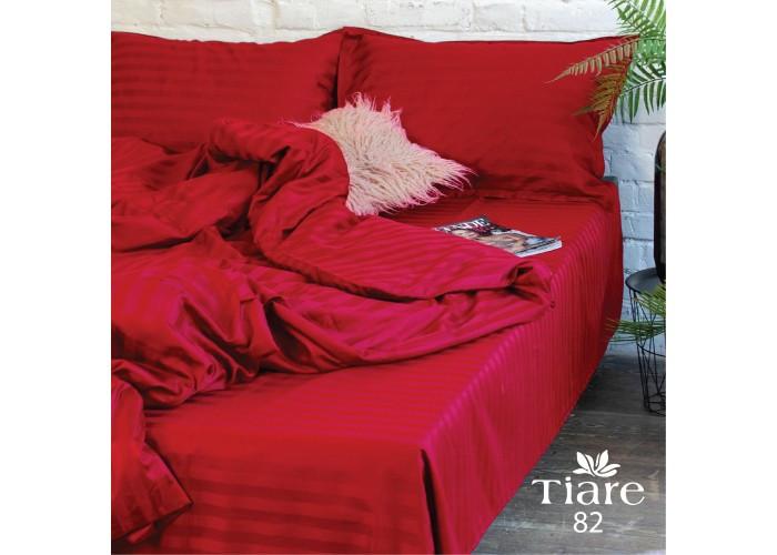 Комплект постельного белья Семейний Сатин Stripe 82 Tiare™