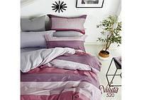 Комплект постільної білизни Євро Сатин Twill 520, фото 1