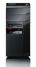 Системный блок Lenovo ThinkCentre A58 Minitower-Intel Pentium E5400-2,7GHz-2Gb-DDR2-HDD-250Gb-DVD-R-