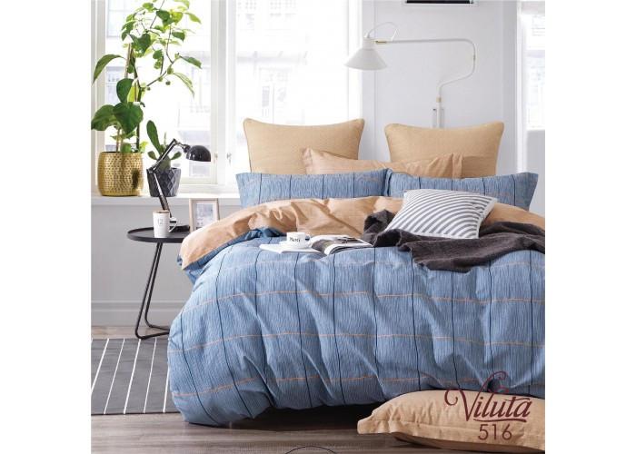 Комплект постельного белья полуторный Вилюта Сатин Twill 516