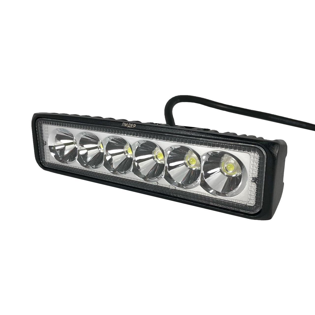 Лидер 07-18 Mini Spot дополнительная светодиодная LED фара дальнего света