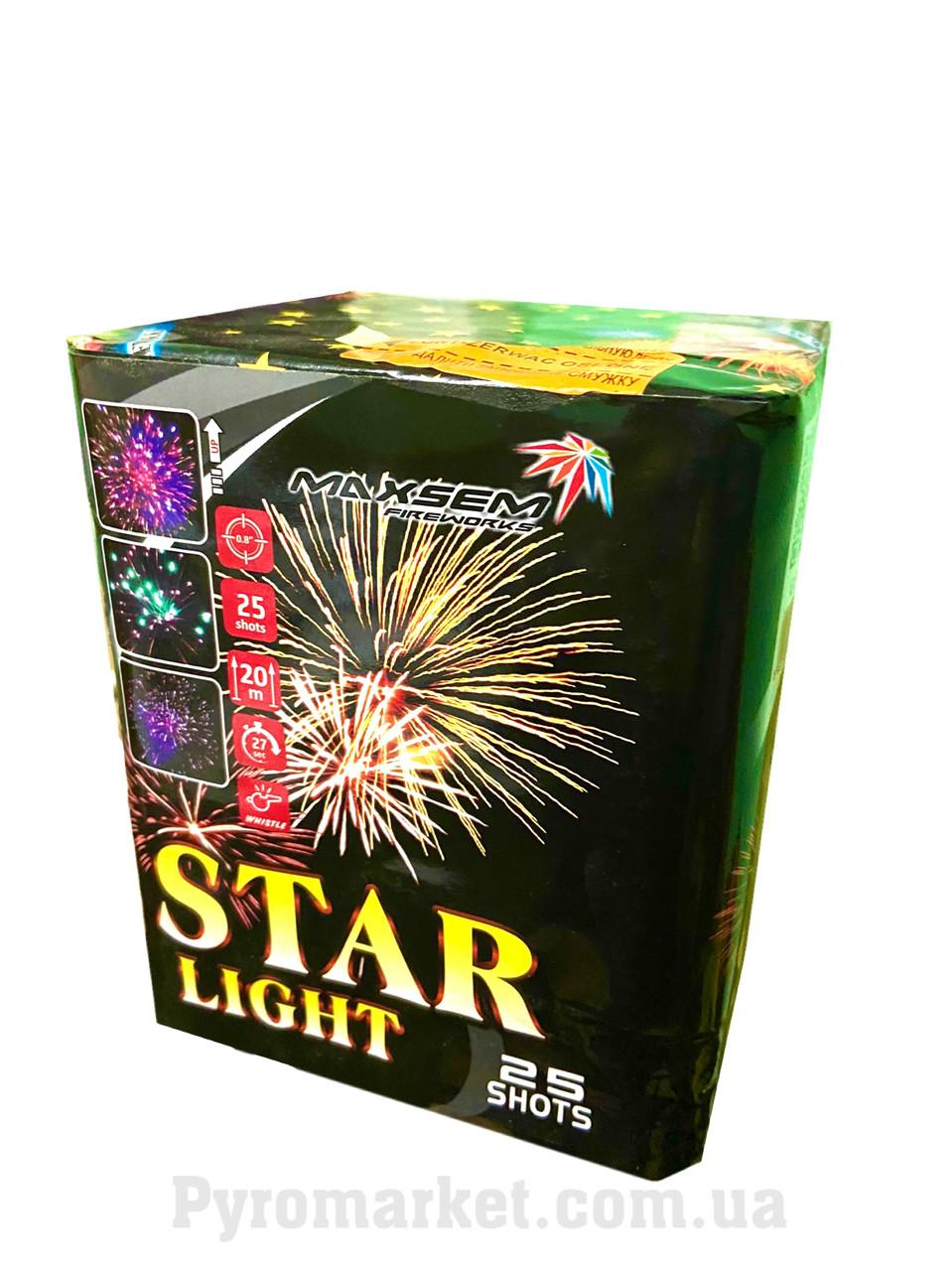Салют Star Light, Maxsem CP467, 25 выстрелов 20 мм