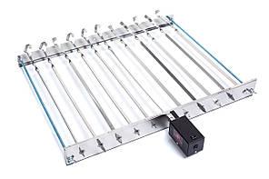 Шашлычница с электроприводом для автоматического вращения шампуров (ленивый шашлычник) Restyle BBQ 11 Standart