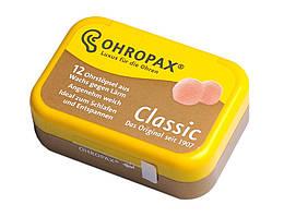 Восковые беруши Ohropax 6 пар SNR 27 дБ 2 упаковки (917-02-2u)