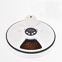 Автоматическая кормушка для кошек и собак электронная Pet Feeder 30x7 см (100663)