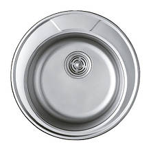 Мийка кухонна HAIBA 490 (polish) (HB0533)