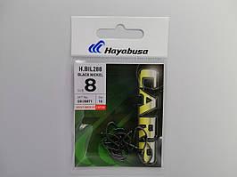 Крючек Hayabusa H.Bil288 Black Nickel №8
