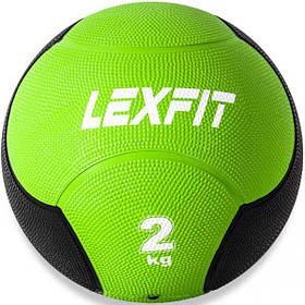 Медбол USA Style LEXFIT зелен. 2кг, LMB-8002-2