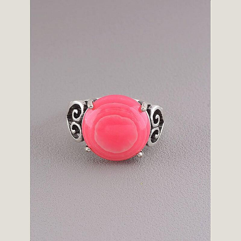 Кольцо на палец  Сардоникс (Серебро)