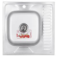 Мийка кухонна ZERIX Z6060L-06-160E (satin) (ZM0568)